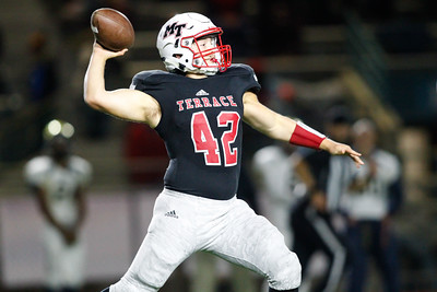 Terrace quarterback Andrew Blair threw for 125 yards on 10 completions Friday against Everett.