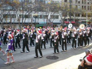 E-W at Macy's parade 112709