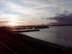 David Kaufer took this photo at sunset Friday.