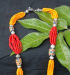 Spilled bead necklace from the Fabric of Life Boutique