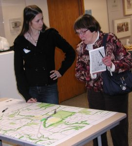 Citizens had an opportunity to share their thoughts on Westgate with UW students in January 2011.