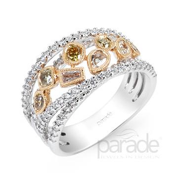 Fancy Colored Diamond Earrings