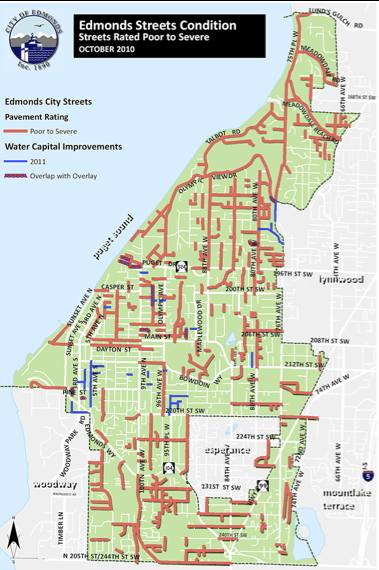 Edmonds City Limits Map