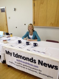 My Edmonds News founder Teresa Wippel invites you to this year's Chamber of Commerce Business Expo June 7.
