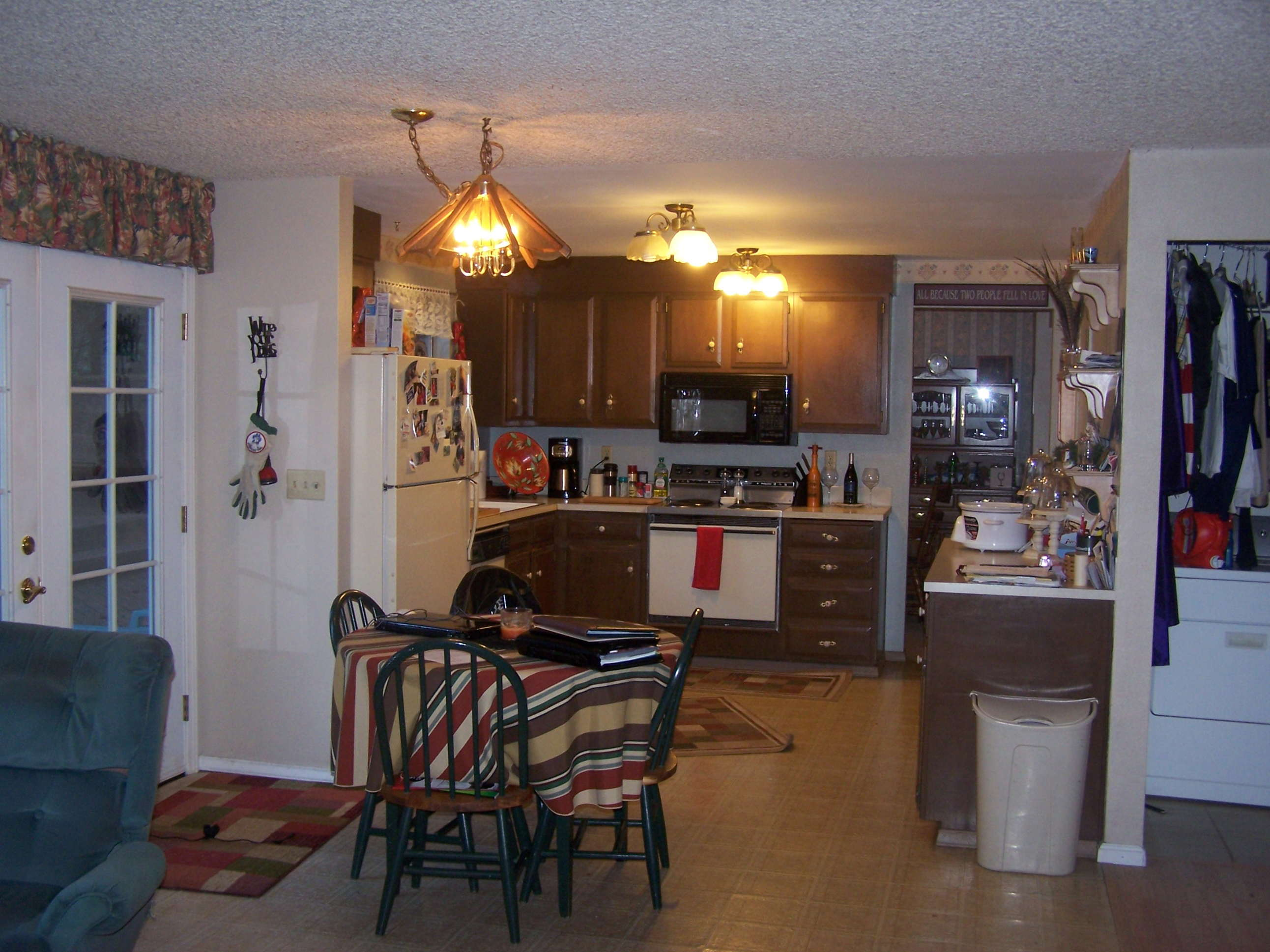 Kitchen Remodel Before And After Wall Removal