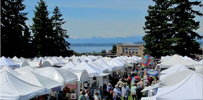 Fun for all at the Edmonds Arts Festival this Friday-Sunday.