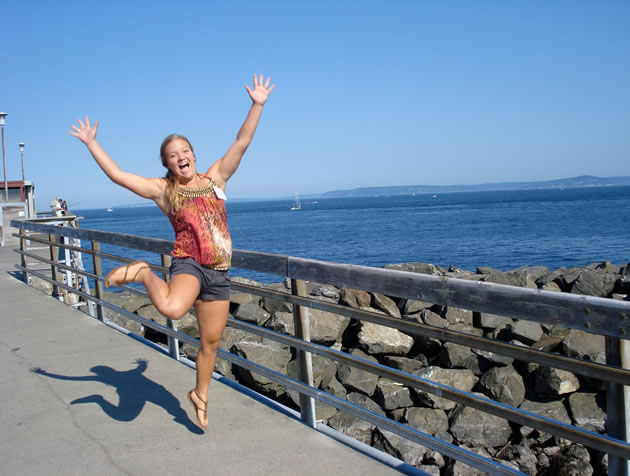 "A 2011 Edmonds Photomarathon winner under the ""Glee"" theme, by Roz Kinney."