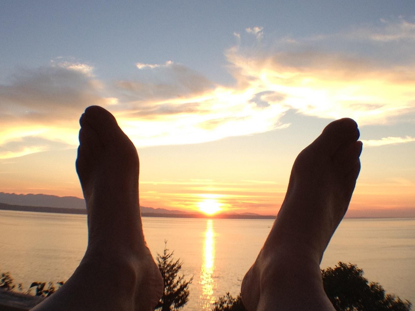 20120812 Two Feet Sunset My Edmonds News