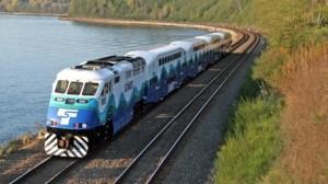 Sounder train, courtesy of Sound Transit's website.