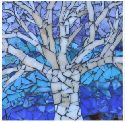 Christy Rommel's mosaics are on display at Gallery North.