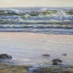 """Sunset Waves,"" by Sandy Byers at Cole Gallery."