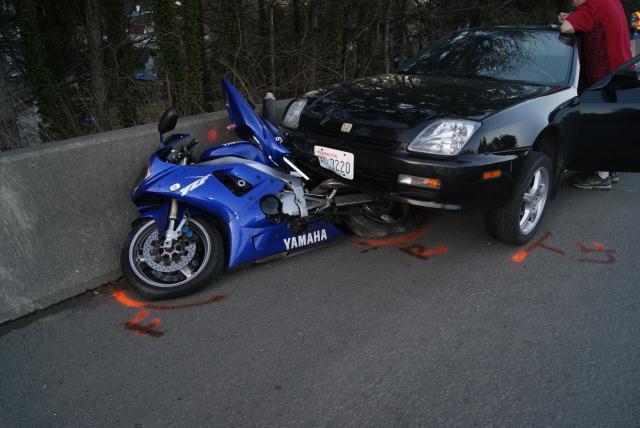 Motorcycle Crash Large