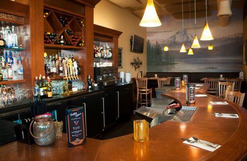 The Inviting Bar At Chanterelle
