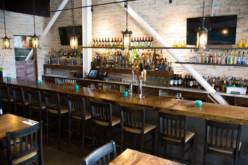 The Margaritas flow at the Las Brisas bar.