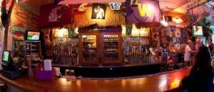 The bar at Taki Tiki