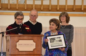 Barbara Kindness received the Chamber's Arts Award for Individual Volunteer in 2013.