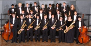 EWHS jazz ensemble.