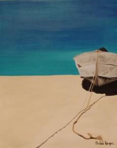 Michele Harps - Rustic Baja Rowboat.