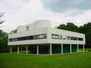Villa Savoye designed by Le Corbusier. (Wikipedia)