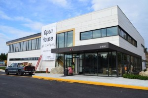 The new Swedish/Edmonds Cancer Care Center will open for patients on April 2. The modularly-constructed building allows for easy future expansion.