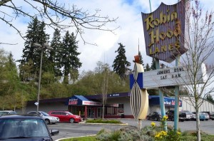 The iconic Robin Hood Lanes, an Edmonds landmark since 1960, will close for good on Thursday, April 25. Demolition of the building is planned for May. It will be replaced by a new Walgreen's Drug and probably a bank.