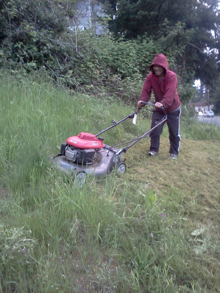 Two Women Tackle Tall Grass And Edmonds Way Automotive
