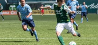Road-weary SeaWolves lose to Timbers, 2-0