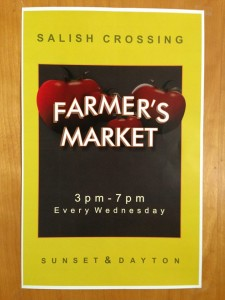 Salish Crossing farmers market