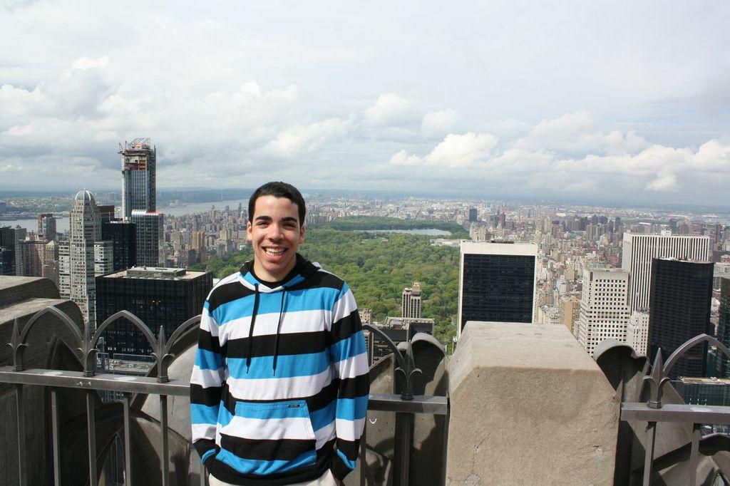 Brooks in New York City.