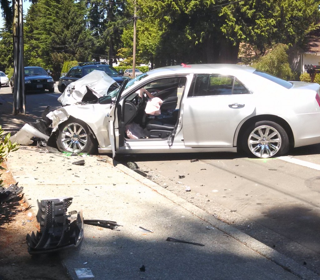 Car Accident Th And Indian School