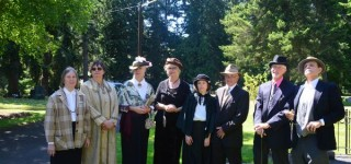 Ghosts of Edmonds pioneers rise again at annual Walk Back in Time event Thursday