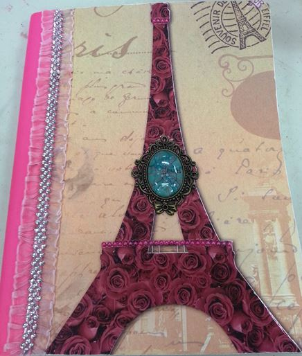 Find back-to-school book cover ideas at Urban Scrapbooker. (Photo courtesy Brooke Snyder)