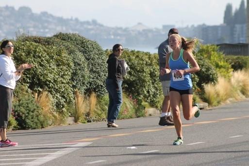 Haley Kettel, women's winner.