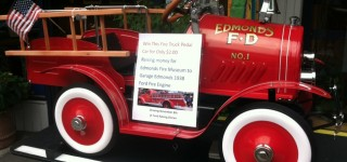 Scene in Edmonds: Win a fire truck!