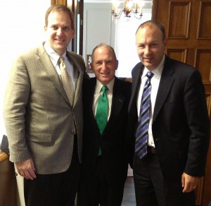 Jim Canfield, president of Operation Military Family, Gen. Chuck Krulak and Mike Schindler, OMF founder and CEO.