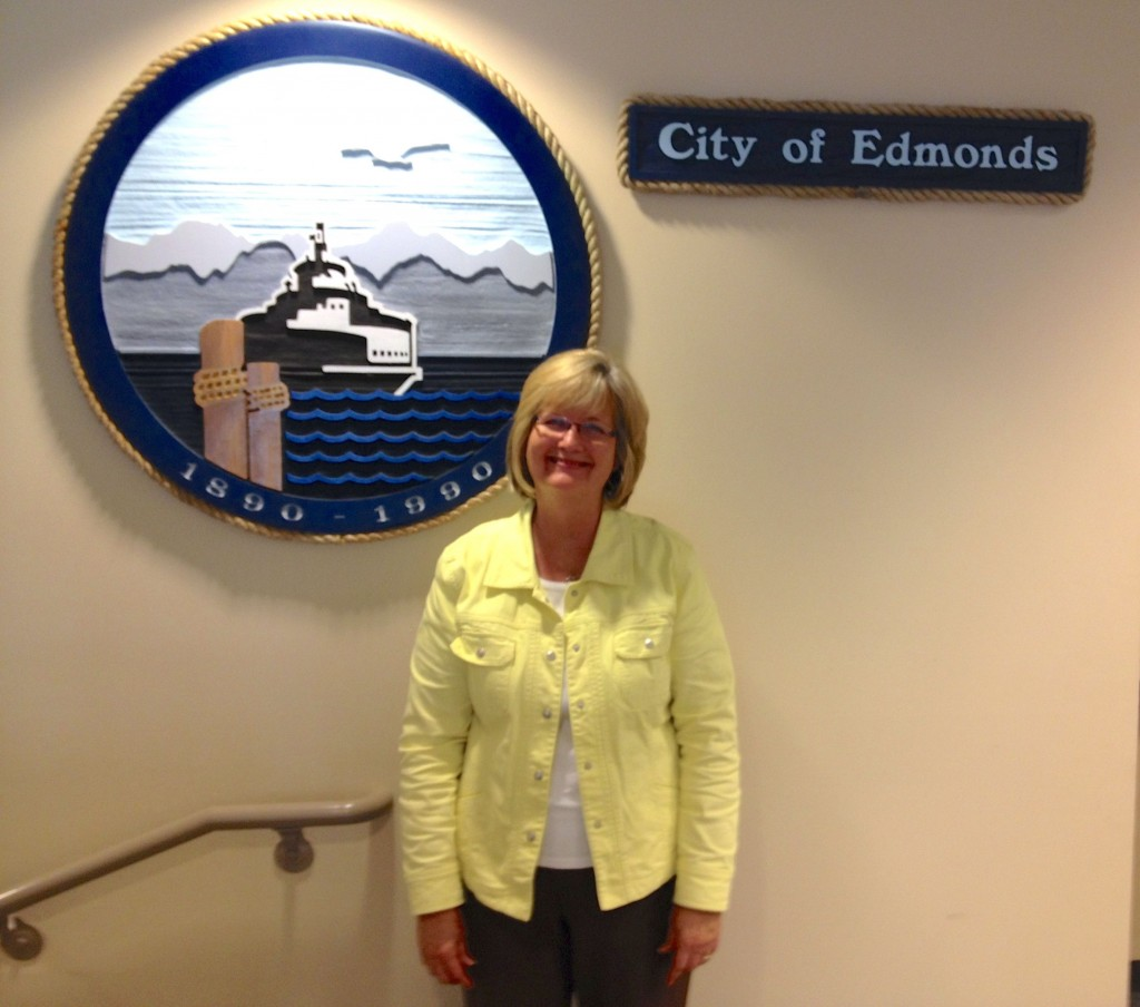 Sandy Chase is leaving the City of Edmonds after 20 years.