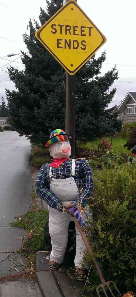 Farmer Joe scarecrow
