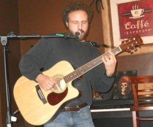 "Mark Goldberg playing his ""Zippy's Blues"" at Edmonds Tunes."