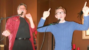 Happy Ham Jeff Stilwell and teen comedian Calvin Martin star at Edmonds Tunes.