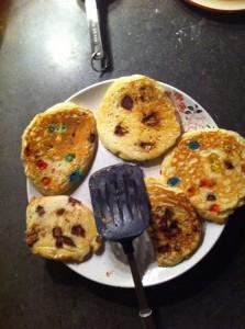 candy pancakes