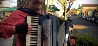 Scene in Edmonds: Making merry music