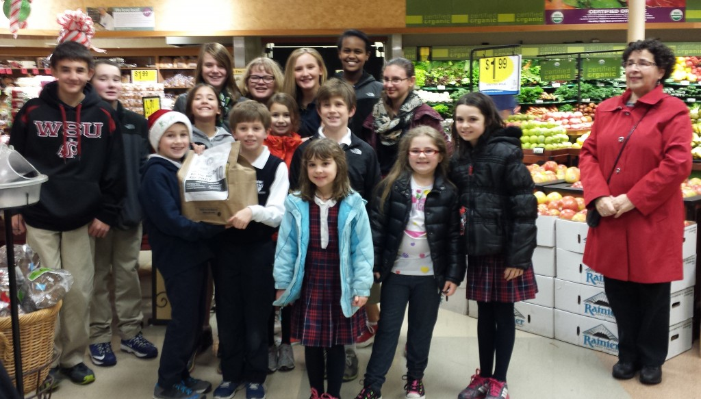 Holy Rosary students at QFC.