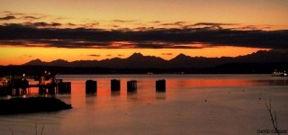 Edmonds scenic: Sunday sunset