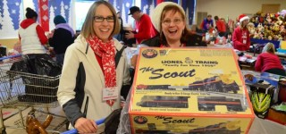 Edmonds Food Bank's Toy Shop makes holiday dreams come true