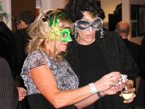 The masquerade theme was a hit with chamber members.