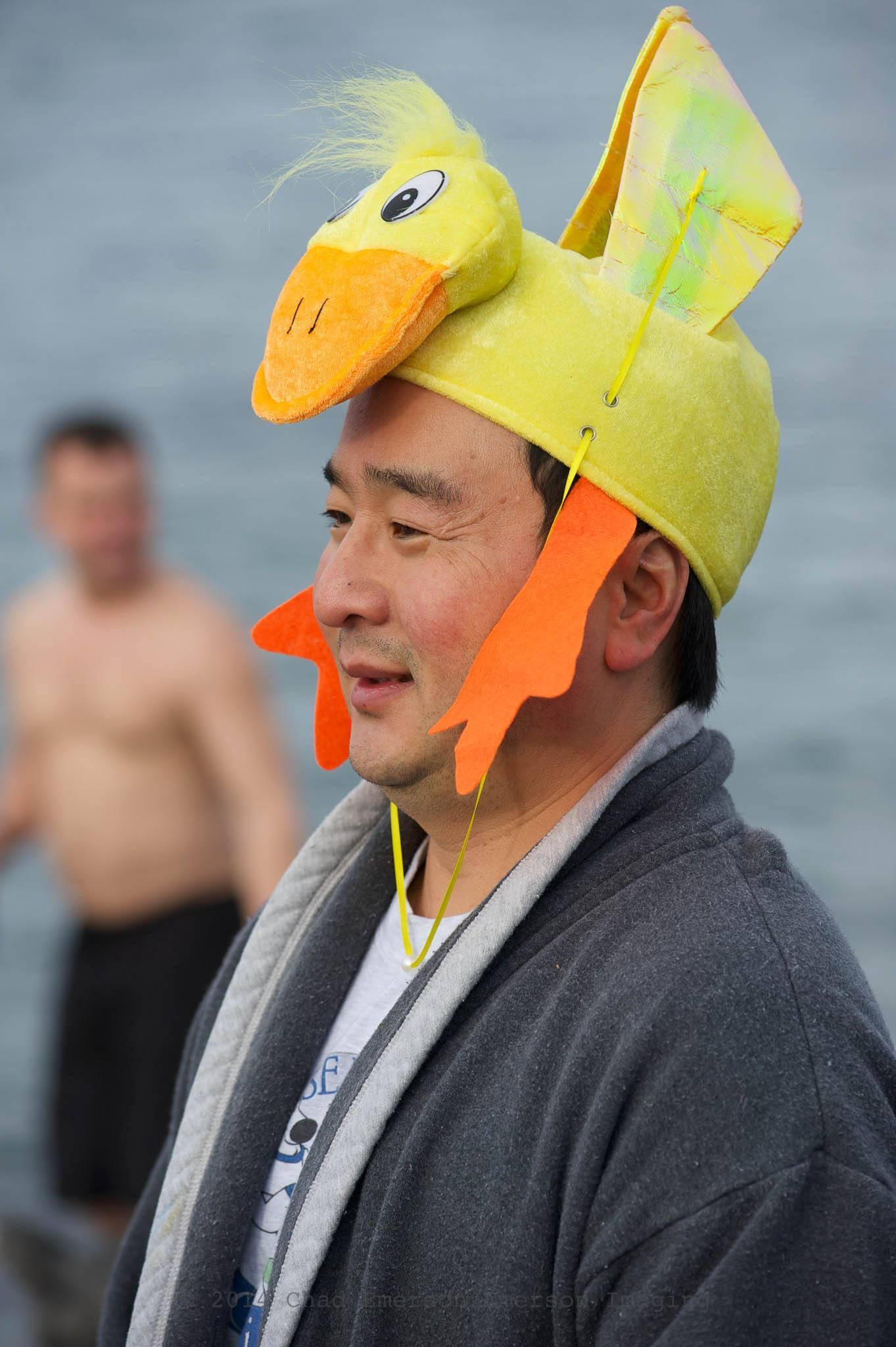 Swimmer In Duck Hat 2013 Polar My Edmonds News