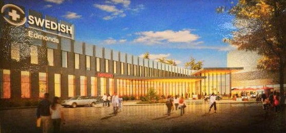 Artist's rendition of the new emergency and urgent care wing. Construction is scheduled to begin this summer.