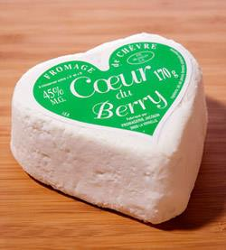 How about heart-shaped cheese from the Cheesemonger's Table?