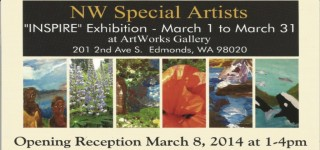 Northwest Special Artists to present 'INSPIRE' exhibit starting Saturday