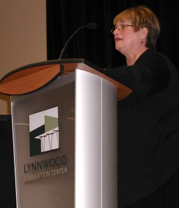 Lynda Tripp was honored as Volunteer of the Year.
